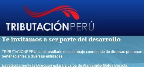 TRIBUTACION PERU